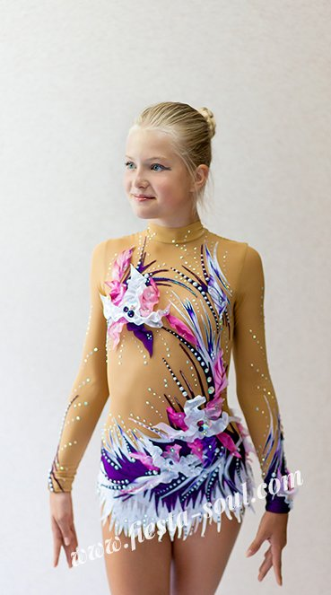 clothes for rhythmic gymnastics