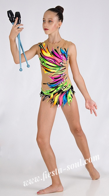 sewing swimsuits forrhythmic gymnastics
